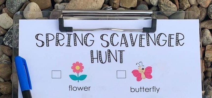 Spring Scavenger Hunt - The Focus Foundation